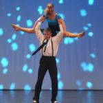 Michele and Mac performing a swing dance