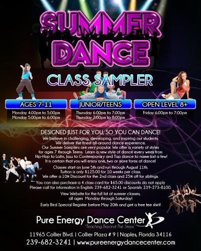 Summer Sample Of Dances