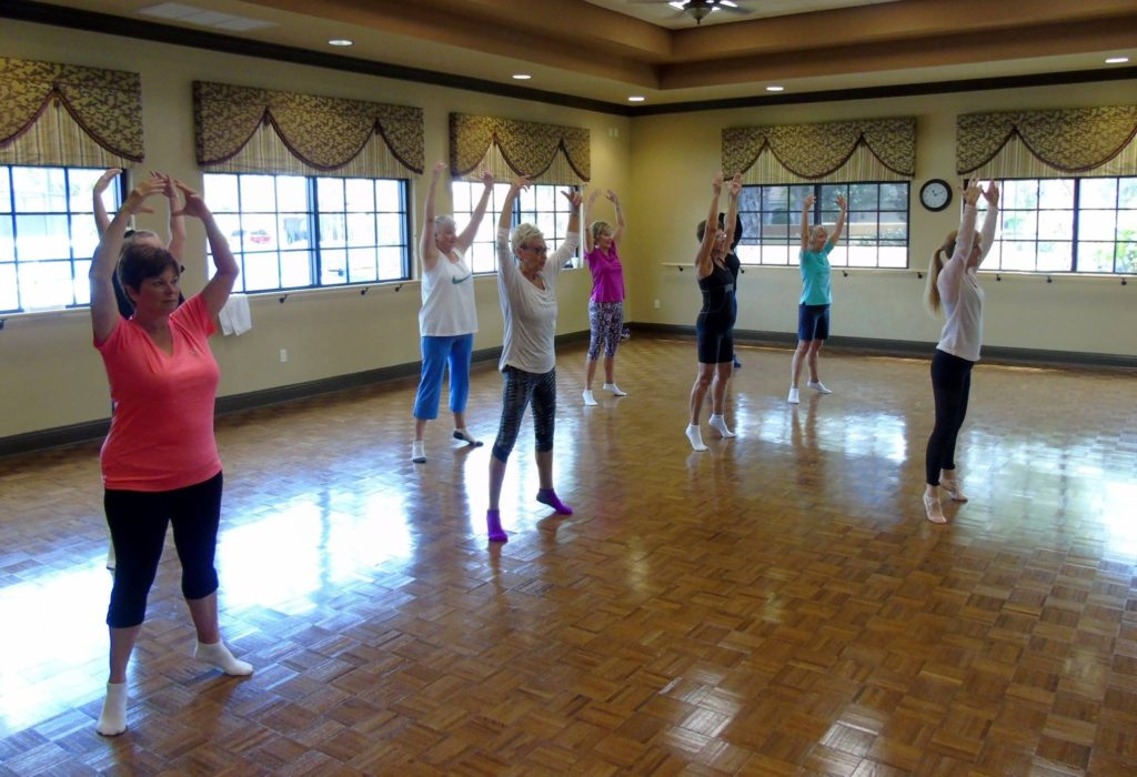 Adult Classes with Michele keeps you ROCKIN