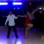 Arron & Michele performing for fundraiser